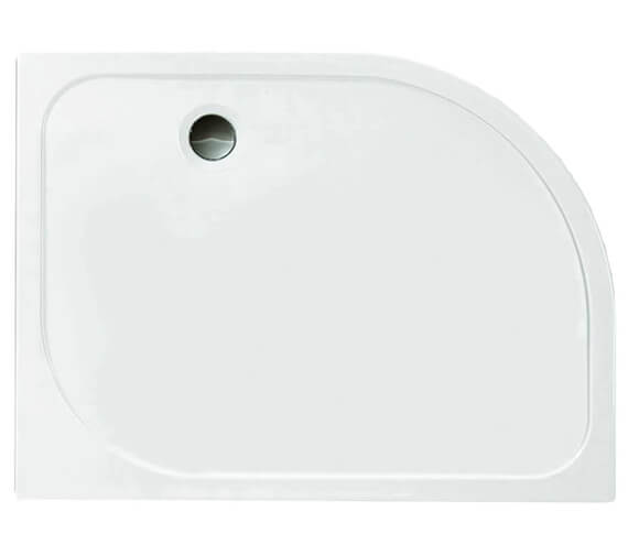 Merlyn Ionic Touchstone Offset Quadrant 50mm Shower Tray