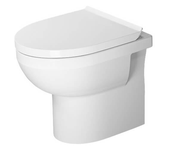Duravit DuraStyle 370 x 480mm Floor Standing Basic Rimless Toilet