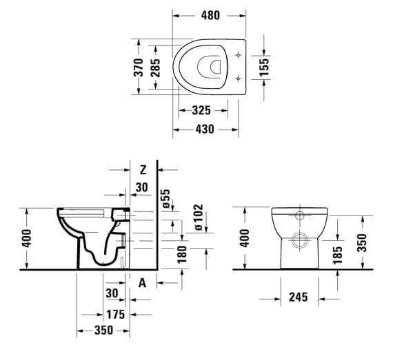 Technical drawing QS-V101265 / 2184090000