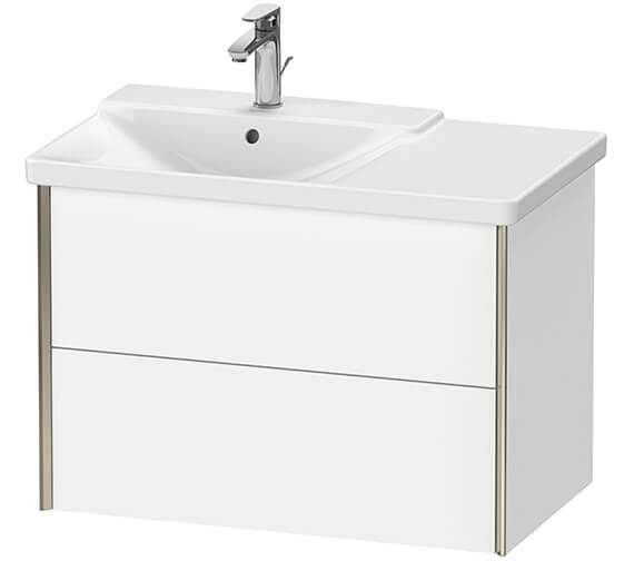 Duravit XViu 2 Drawers Vanity Unit Wall-Mounted For P3 Comforts Basin