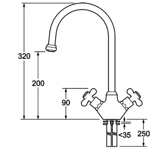 Technical drawing QS-V43238 / SM057