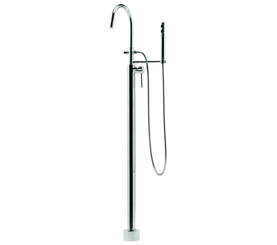 Deva Vision Floor Mounted Mono Bath Shower Mixer Tap With Kit