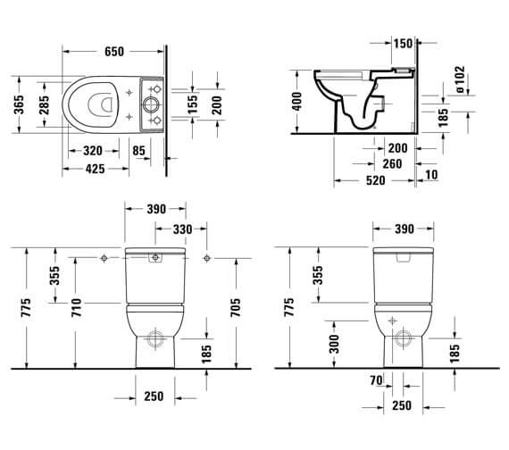 Technical drawing QS-V101266 / 2182090000