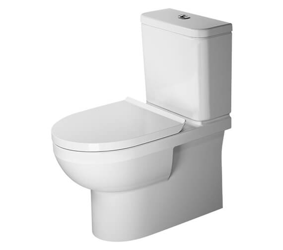 Additional image of Duravit DuraStyle Basic 650mm Rimless Close Coupled WC With Cistern