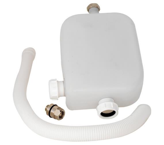 Nuie Premier 4 Tap Hole Hose Retainer With Drain - SPR04