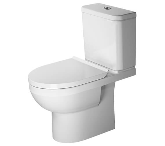 Duravit DuraStyle Basic 655mm Rimless Close Coupled WC Pan