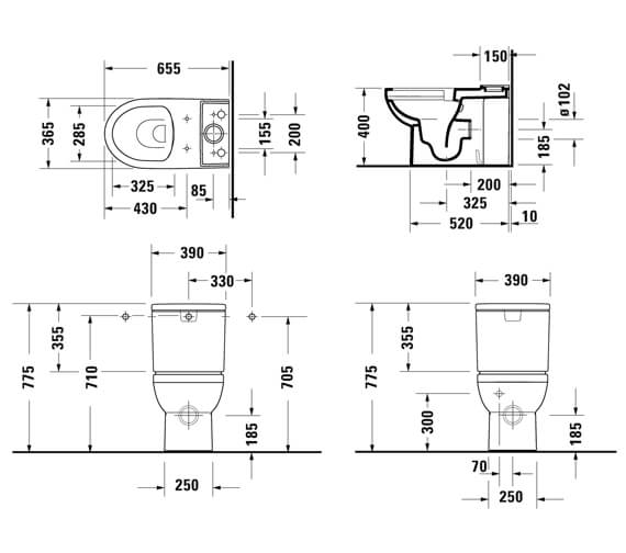 Technical drawing QS-V101267 / 2183090000
