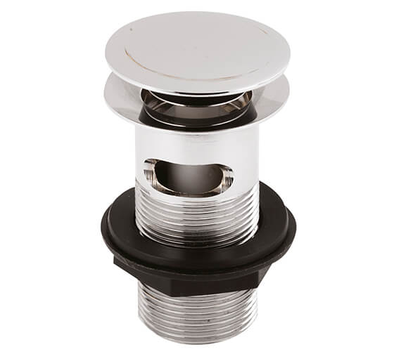 Nuie Premier Slotted Push Button Basin Waste - EK303