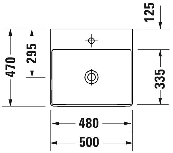 Additional image for QS-V33569 Duravit - 2353500071
