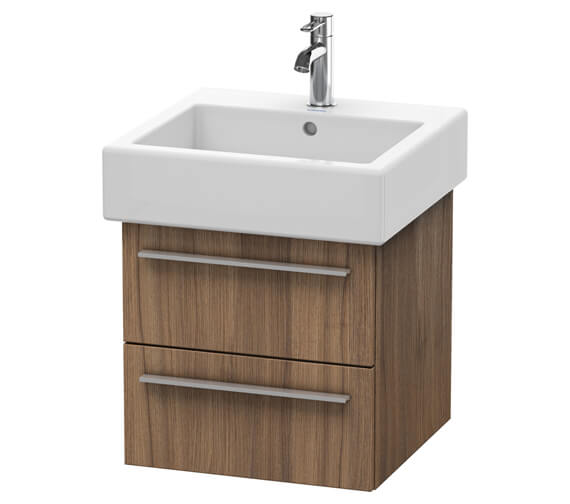 Duravit X-Large 2 Drawer Wall Mounted Vanity Unit For Vero Washbasin