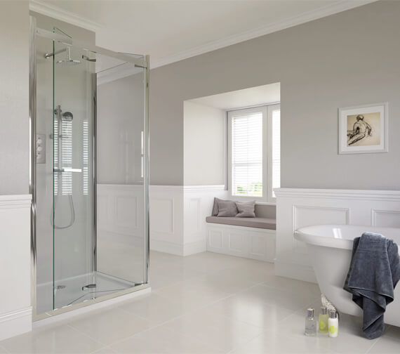 Aqata Spectra SP481 Bi-Fold Shower Door 800 x 800mm - Sizes Available