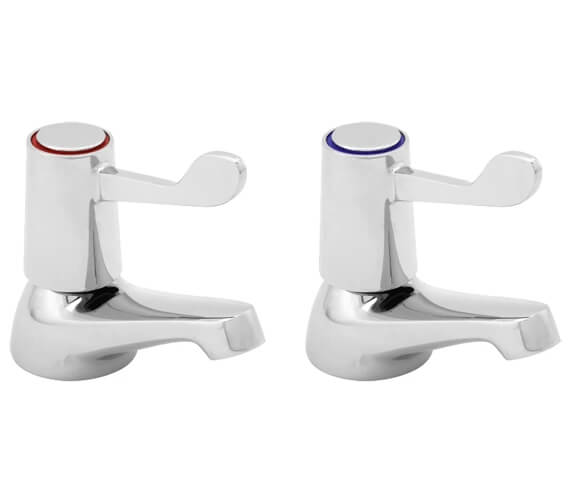 Additional image of Deva Lever Action Basin Taps