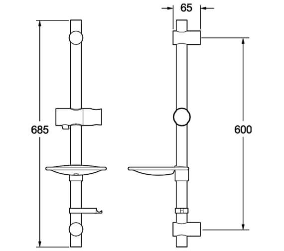 Technical drawing QS-V10864 / SPE15