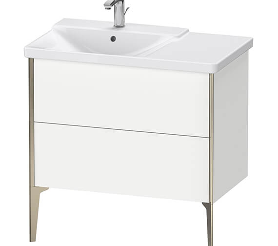 Duravit XViu 2 Pull-Out Compartments Vanity Unit Floor-Standing For P3 Comforts Basin