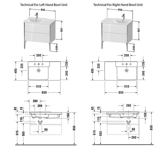 Technical drawing QS-V42554 / XV44940B118