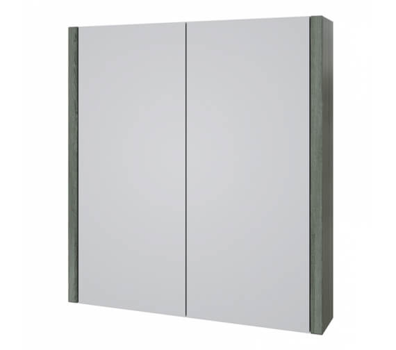 Alternate image of Kartell K-Vit Purity White Double Mirrored Door Bathroom Cabinet