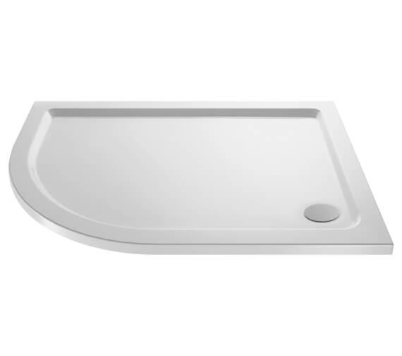 Nuie Premier Hydrastone Offset Quadrant Shower Tray