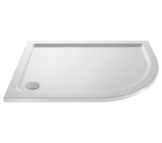 Additional image of Nuie Premier Hydrastone Offset Quadrant Shower Tray