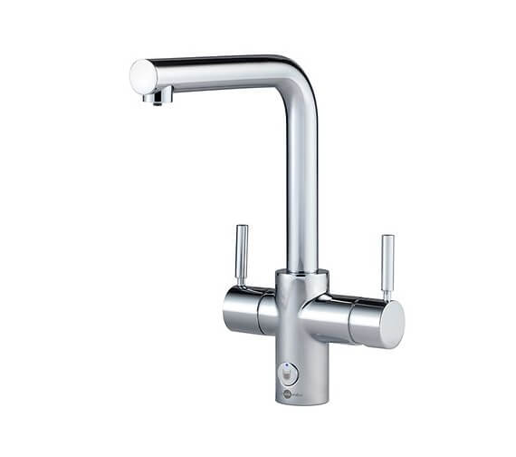 Insinkerator 4N1 Touch L Shape Steaming Hot Water Tap With NeoTank And Filter