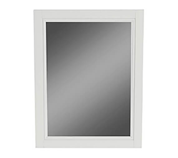Heritage Caversham Dove Grey 500mm Furniture Mirror