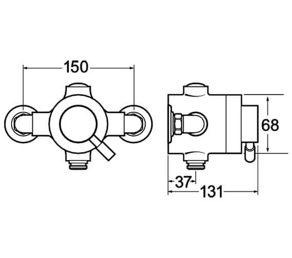Technical drawing QS-V50046 / VSNVSEQT01