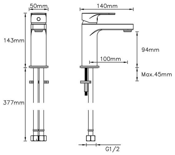 Technical drawing QS-V88768 / BRBBKUK