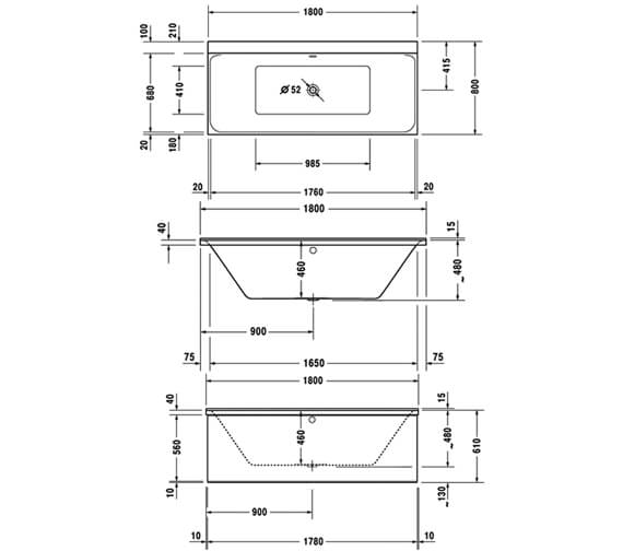 Technical drawing QS-V74111 / 760377000JS1000