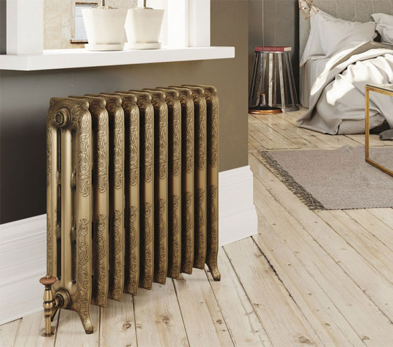 DQ Heating Loxley Cast Iron Radiator 3 - 40 Sections