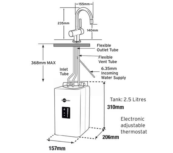 Technical drawing QS-V95978 / HC3300C