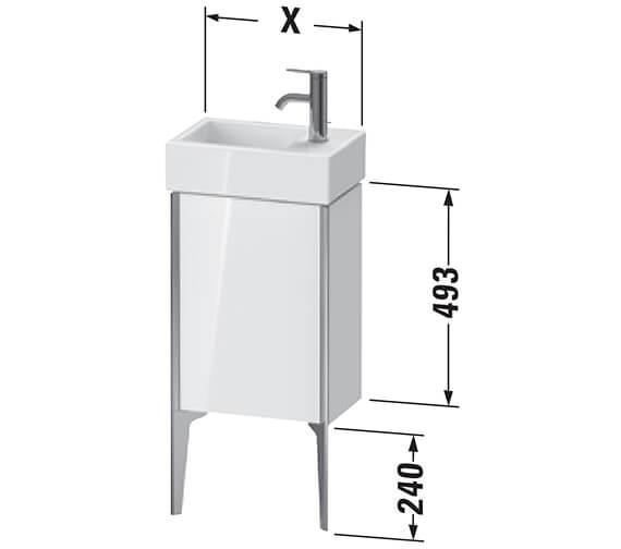 Technical drawing QS-V96312 / XV4530LB118