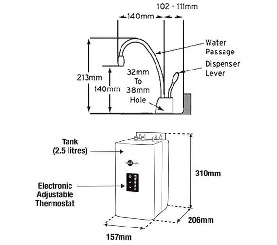 Technical drawing QS-V95973 / GN1100C