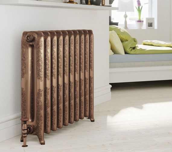 DQ Heating Bronte Cast Iron Radiator 3-40 Sections