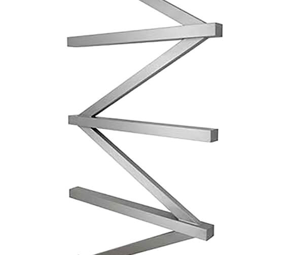Alternate image of Aeon Zig Zag E 500 x 1500mm Wall Mounted Stainless Steel Towel Rail