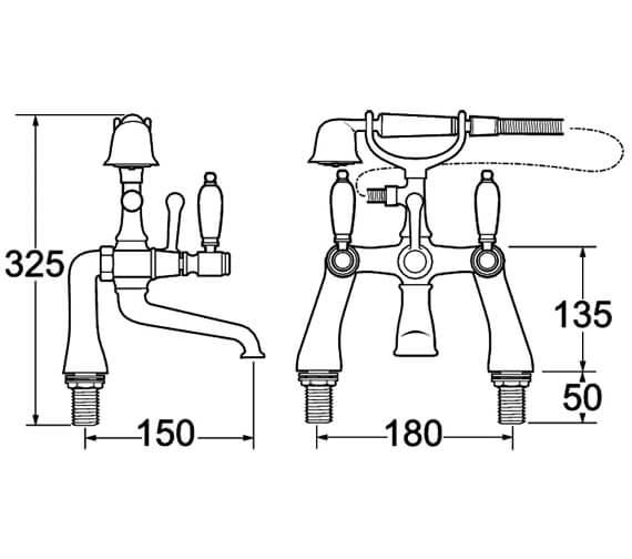 Technical drawing QS-V45121 / GE03
