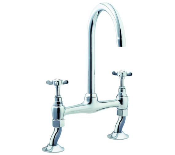 Deva Coronation Bridge Kitchen Sink Mixer Tap