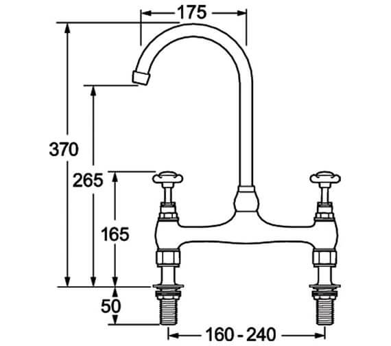 Technical drawing QS-V43213 / CR305