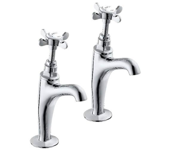 Deva Coronation Half Inch High Neck Kitchen Sink Taps