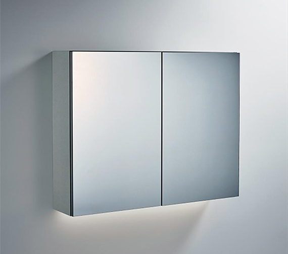 Ideal Standard 700mm Mirror Cabinet With Bottom Ambient Light