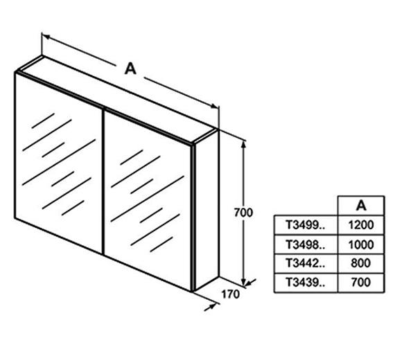 Technical drawing QS-V101057 / T3439AL