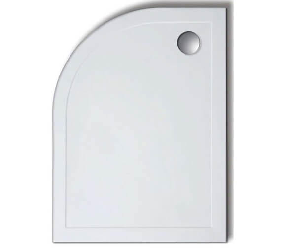 Lakes Low Profile 45mm Offset Quadrant ABS Stone Resin Tray