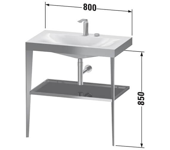 Technical drawing QS-V89505 / XV4715NB110