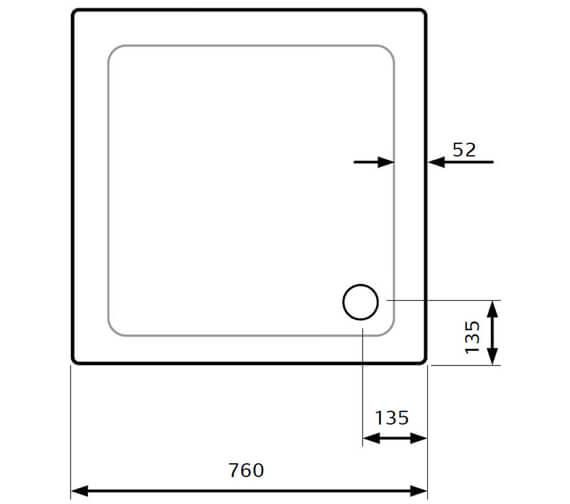 Technical drawing QS-V28028 / AATS7676