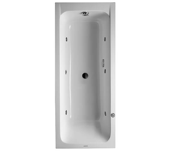 Duravit D-Code Built-In Whirltub With Central Outlet