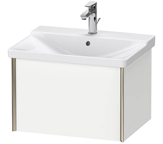 Duravit XViu Wall-Mounted 1 Pull-Out Compartment Vanity Unit For P3 Comforts Basin