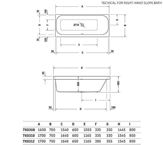 Technical drawing QS-V3550 / 760308000JS1000