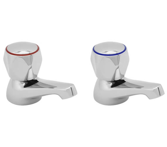 Deva Profile Pair Of Basin Taps