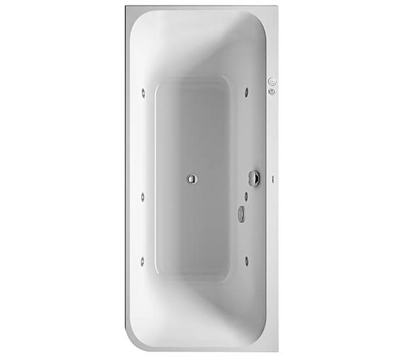 Duravit Happy D2 1800 x 800mm Bath With Two Backrest Slopes