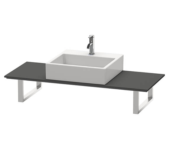 Duravit X-Large 480mm Depth Console For Above Counter Basin