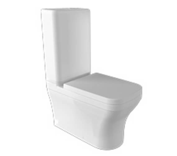 Saneux Indigo Close Coupled WC Pan With Cistern And Soft Close Seat
