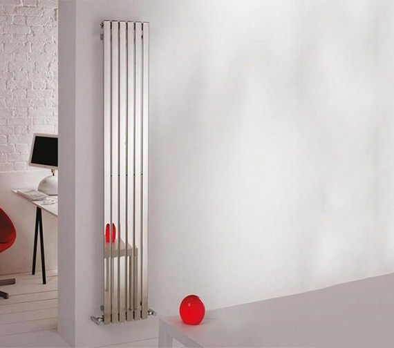 Kartell K-Rad Florida Stainless Steel Designer Radiator 490 x 600mm